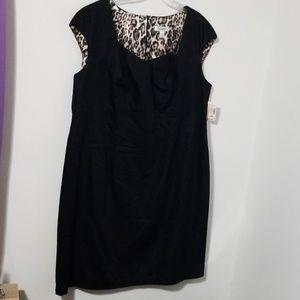 Black Dressbarn Mid Legnth Dress